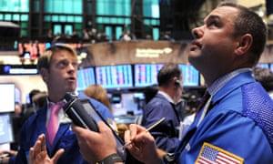 New York Stock Exchange traders