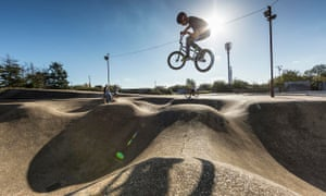 Rom skatepark in Hornchurch, now Grade II listed