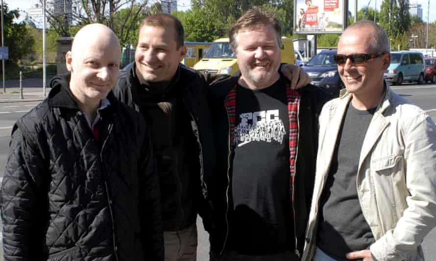 Wolfram Hasch, Frank Schuster, Frank Willmann and Thomas Onisseit.