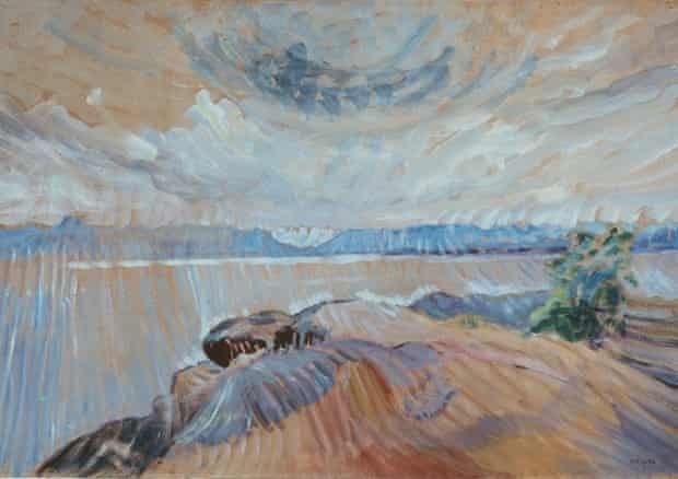 'Cosmic power': Sea and Sky, c1936 by Emily Carr.