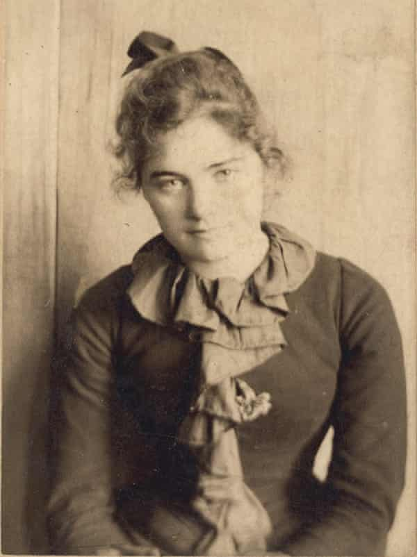 Emily Carr in San Francisco, age 21 or 22, c1893.