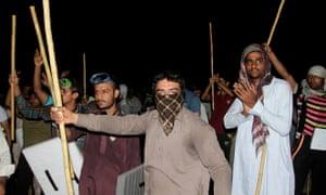 Supporters of Tahir-ul-Qadri clash with police