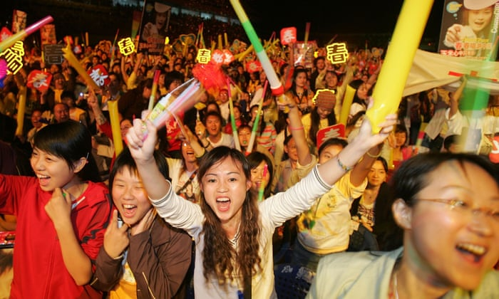 Chinese viewers in their millions are captivated by western