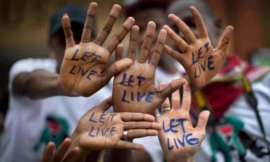 Global March for Elephants and Rhinos - Nairobi