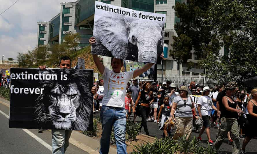 Global March for Elephants and Rhinos, Johannesburg