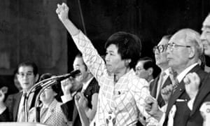 Takako Doi in 1986.