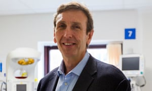 Dr Keith McNeil chief executive of Cambridge University Hospitals NHS Foundation Trust