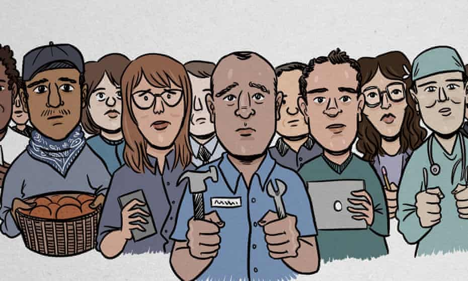 willing workers illustration