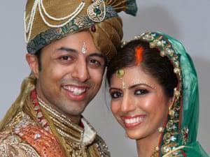Shrien and Anni Dewani on their wedding day.