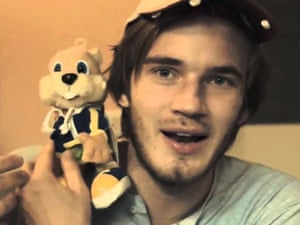 PewDiePie has more than 30m subscribers: 'I'd like to help other YouTubers'.