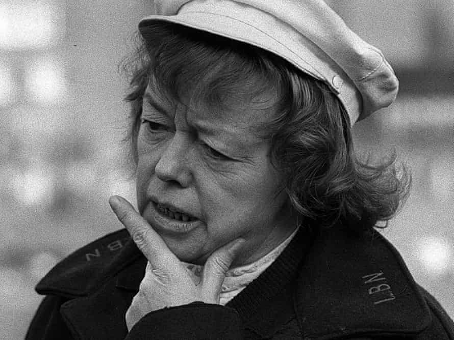 Joan Littlewood, founder of Theatre Workshop.