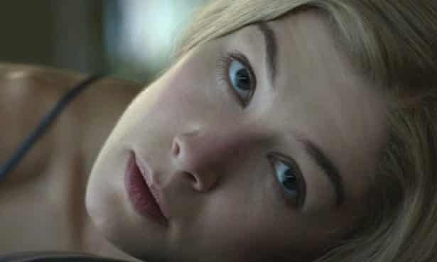 More deadly than the male …Rosamund Pike in Gone Girl