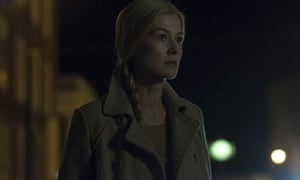 Shadowy motives … Pike as Amy in Gone Girl