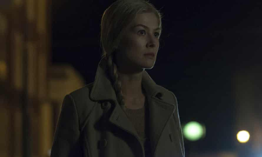 Shadowy motives …Pike as Amy in Gone Girl