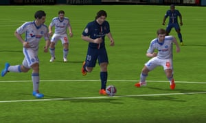 FIFA 15 for Android.