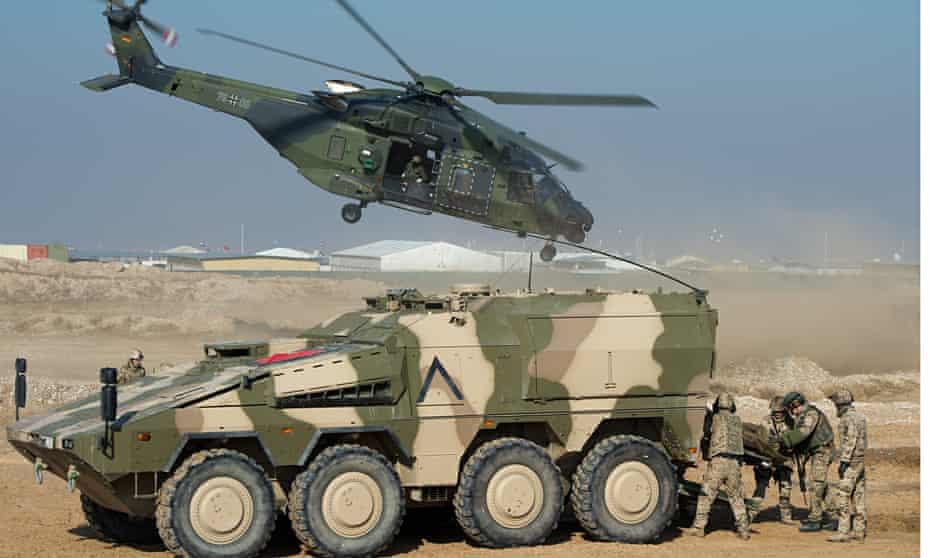 Defense Minister von der Leyen visits troops in Afghanistan