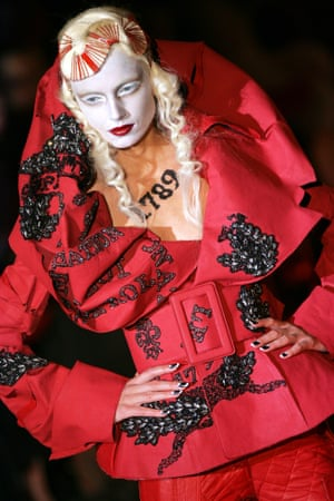 Galliano's spring/summer 2006 collection for Dior.