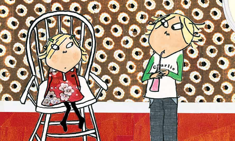 Charlie and Lola from I Am Too Absolutely Small for School