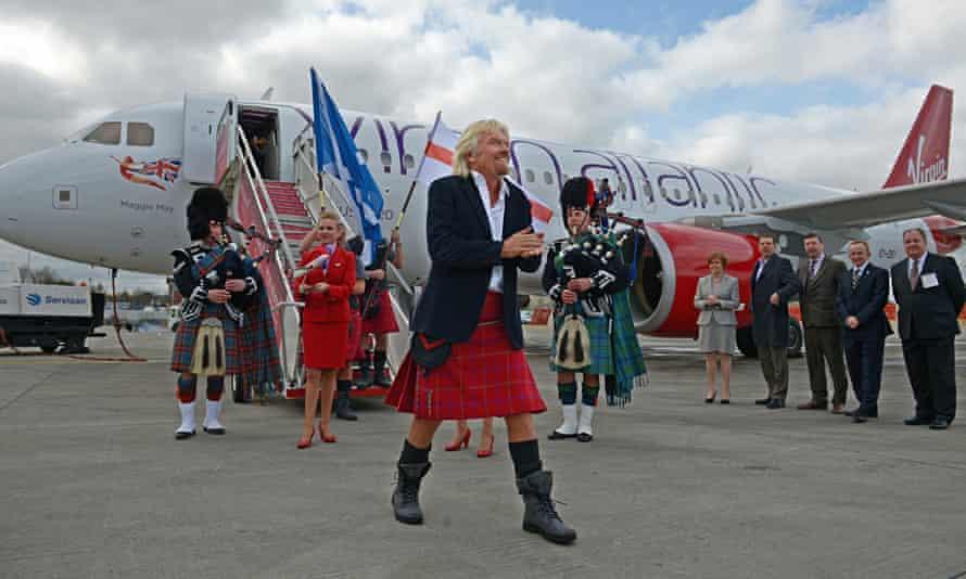 Sir Richard Branson Launches Virgin Atlantic Little Red