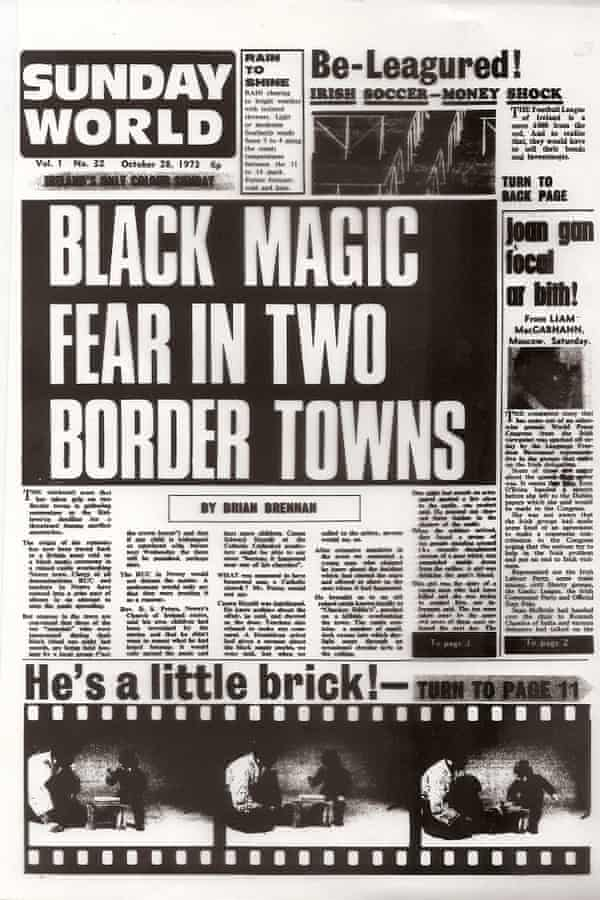 A Sunday World front page from 1973.