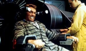 Under pressure: Arnold Schwarzenegger in Total Recall