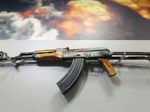 Osama Bin Laden's machine gun