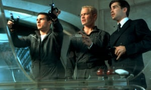 Tom Cruise, Neal McDonough and Colin Farrell in MInority Report.