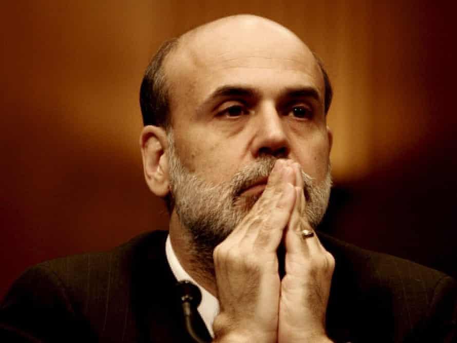 US Money Ben Bernanke