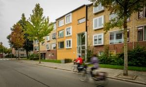 Energiesprong renovated building in Groningen