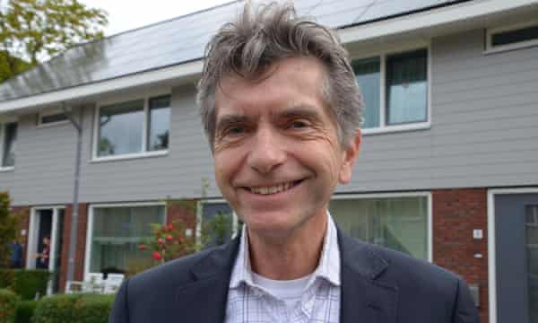 For Arthur article on Energiesprong : Pierre Sponselee, director of Woonwaard housing association