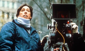 Reitman on the set of Ghostbusters 2