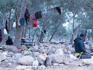Gurugu Mountains migrants