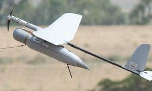 Israeli army drone aircraft