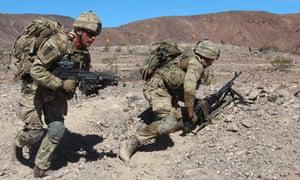us/uk military exercise california
