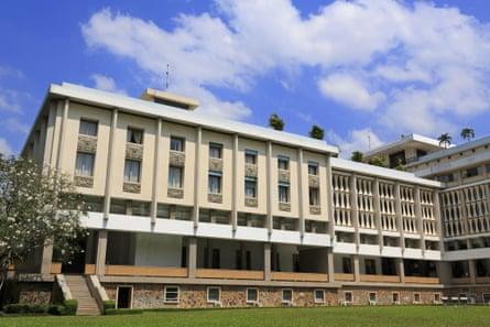 Reunification Palace.
