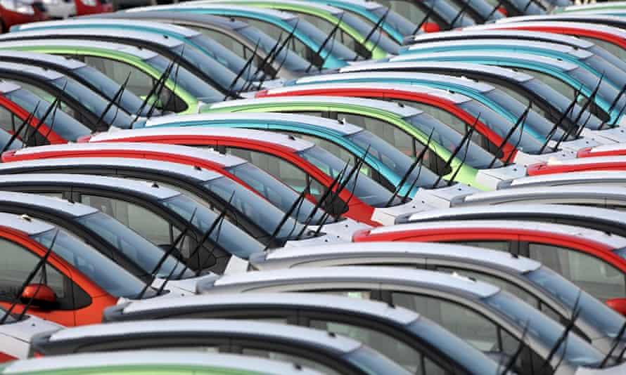 New car sales high