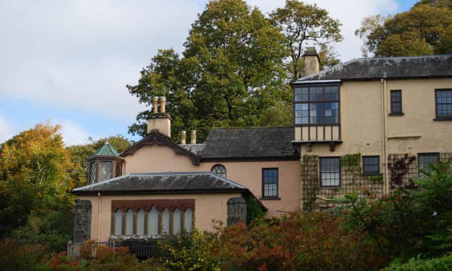 Brantwood, Ruskin's house in the Lake District.