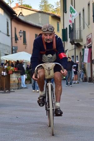 Italian cyclist Luciano Berruti
