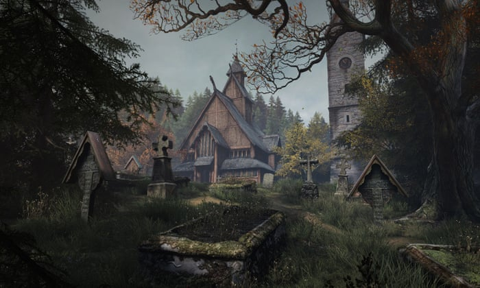 The Vanishing Of Ethan Carter Review A Spell Binding Sinister Mystery Games The Guardian