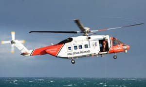 Coastguard helicopters were sent to search over the Channel after a mayday call from a trimaran was reported.