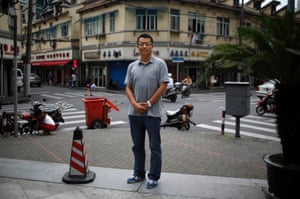 """Zhang Bowen, who was born in 1985, poses for a photograph in Shanghai July 25, 2014. '""""I'd like to have a sister or a brother, because I would feel less lonely growing up."""""""