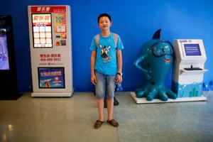 """Zhu Diwen, who was born in 1999. Diwen said: """"I have a cousin and I don't want to have brothers and sisters."""""""