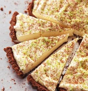 Chocolate Key Lime Pie by Nigella Lawson