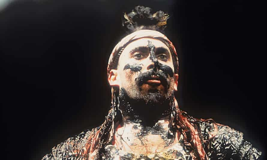 'Earthy, visceral, physical' … the 1992 RSC production of Tamburlaine the Great, with Antony Sher in the title role