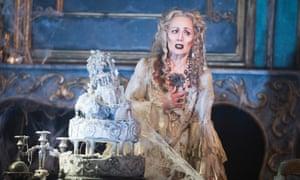 Paula Wilcox (Miss Havisham) in Great Expectations.