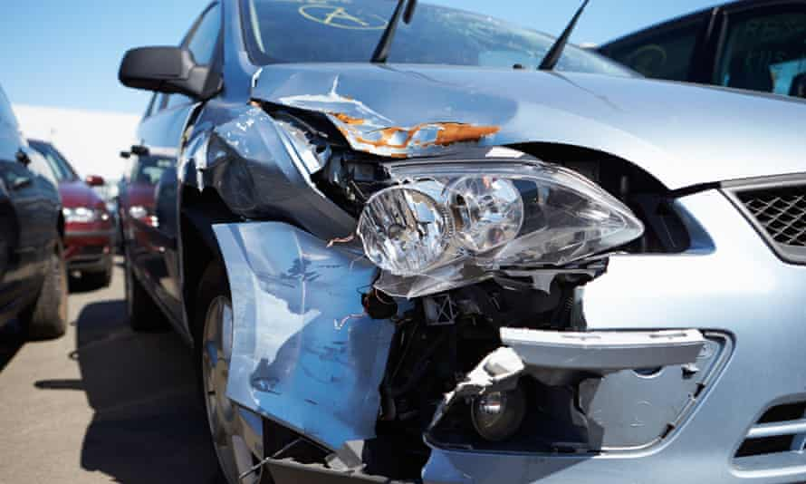 Damage To Car Involved In Accident