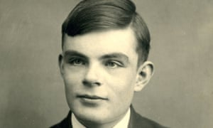 Alan Turing at school in Dorset in 1928, aged 16.