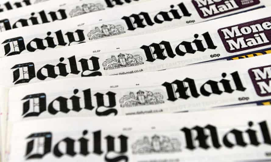 Copies of the British right wing national newspaper the Daily Mail in London, Britain, 02 October 2013