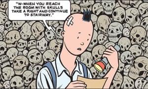 Charles Burns's Sugar Skull.
