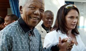 Nelson Mandela Zelda La Grange 2004